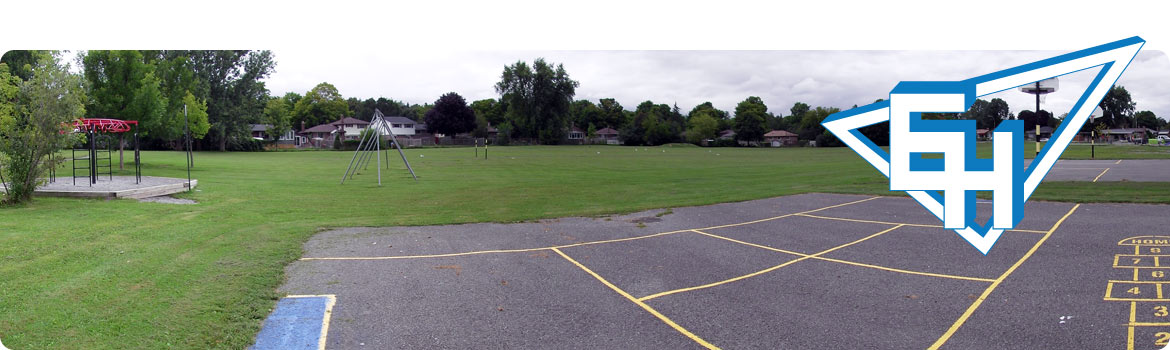 This is a picture of school yard